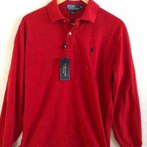 Polo Ralph Lauren Red Polo sz M